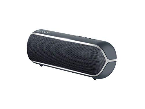 Sony SRS-XB22 Enceinte Portable Bluetooth Extra Bass Waterproof avec Lumières - Noir (Reconditionné)