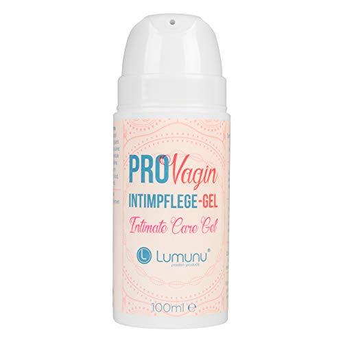 Deluxe ProVagin Intimpflege-Gel für Frauen (100ml), mit Milchsäure zur Vorbeugung von Trockenheit im äußeren Intimbereich