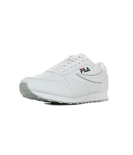 Fila - Orbit low blanc - Chaussures basses cuir ou simili - Blanc - Taille 38