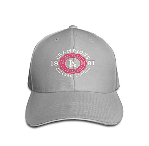 Unisex Adjustable Flat Hat Baseball Caps los Angeles California Typography Design Clothes Print Product Vintage Sport Apparel Champions College -