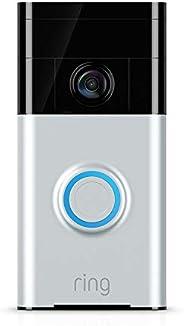 Ring Video Doorbell, HD-videodeurbel met meldingen bij bewegingsdetectie en tweeweg-audio