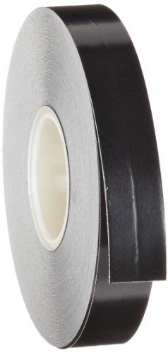 Brady Nonabrasive Border Line Floor Marking Tape, 50' Length, 1/4 Width, Black (Pack of 1 Roll) by Brady