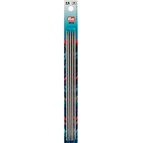 Nadelspiel Größe 2.5 - Nadelspiel Set – Stricknadeln Wolle 2,5mm – Nadelspiel Aluminium von Prym – Stricknadeln für Socken – Nadelspiel Prym 2 5 – Stricknadeln Prym - Strick Nadel – Nadelspiel Alu