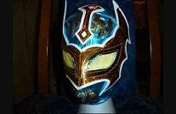 Cara Kinder Kostüm Sin - Sin Cara blau Maske Kostüm verkleiden Outfit Style Replik WWE Wrestling Mistico Maske REIßVERSCHLUSS KINDER ERWACHSENE NEU Party Wrestlemania Gear Anzug
