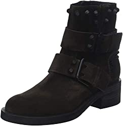Kennel und Schmenger Damen Blake Biker Boots, Braun (Mocca/Black 257), 38 EU