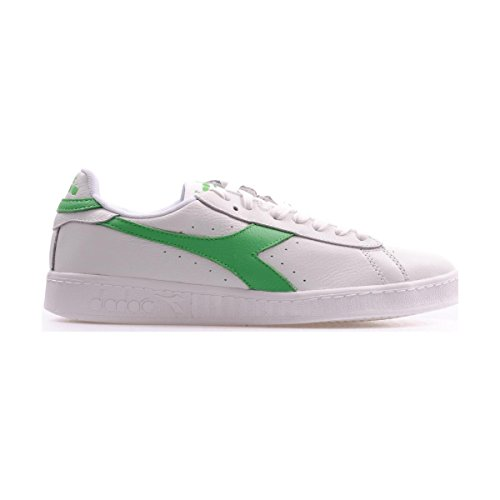 Diadora Unisex-Erwachsene Game L Low Waxed Pumps, 36 EU White/Irish Green