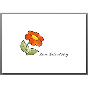 Postkarte / Blume No 1