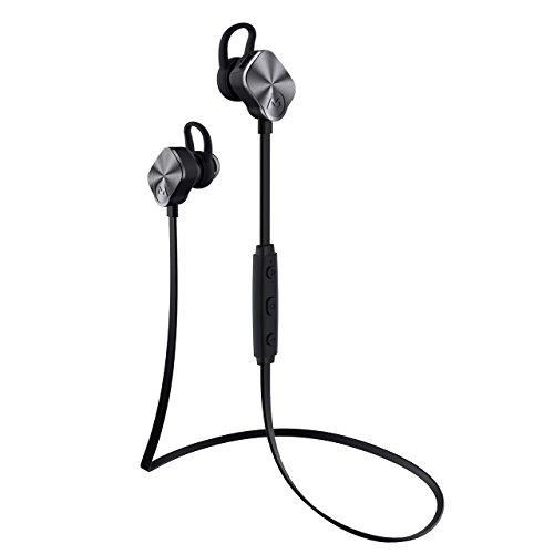 Mpow® Bluetooth-Sport-Kopfhörer, mit integriertem Mikrofon, sichere Passform für Sport/Fitness/Laufen, für iPhone/Huawei, etc, Bluetooth 4.1, 8Stunden Spielzeit