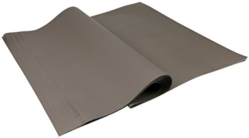 FiveSeasonStuff 20 Stück Große Leere Kraftpapier, Geschenkpapier DIY Handwerk Papier, 70cm x 50cm (27,6 x 19,7 inches), 70gsm - Braun Tissue-papier Kraftpapier