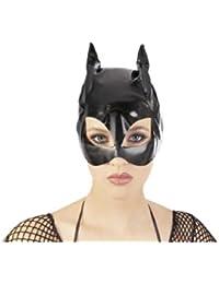 Black Level Guêpière Vinyle de Catwoman en Noir Taille S-L