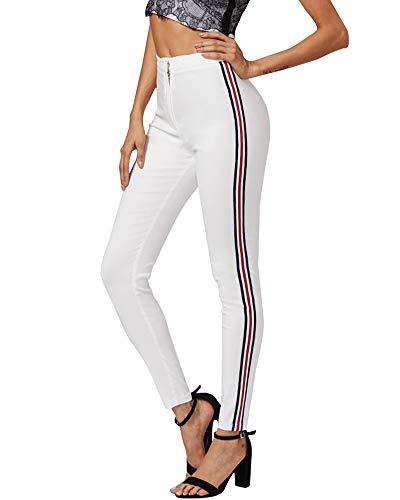 0158cd549 Pantalon jean blanc - Les meilleurs de Juillet 2019 - Zaveo