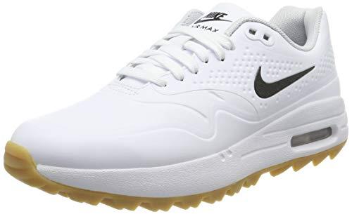 Nike Air Max 1 G, Scarpe da Golf Donna, Bianco (Blanco 100), 36.5 EU