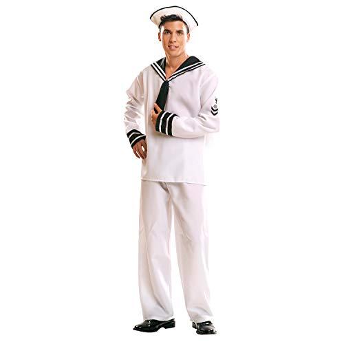 My Other Me Me - Disfraz de Marinero para adultos, talla S (Viving Costumes MOM01016)