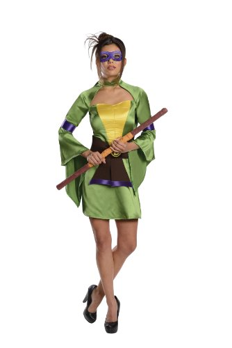 T.M.N.T. Sexy Donatello Kimono Costume Adult (Turtles Ninja Sexy)