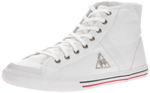 Le Coq Sportif Saint Malo Mid Cvs, Baskets mode mixte adulte Blanc (White)