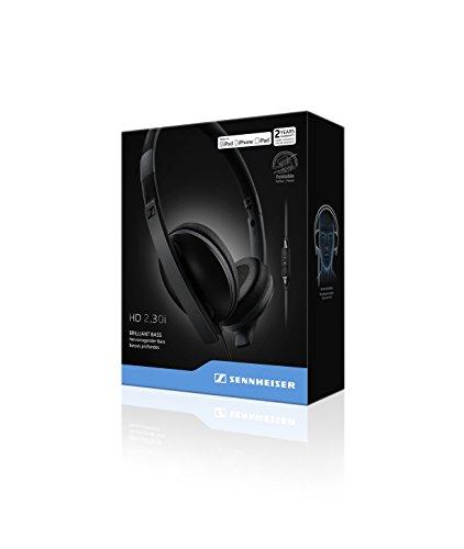 Sennheiser 506717 HD2.30i On-Ear-Kopfhörer (mit geschlossener Bauweise, geeignet für Apple iOS) schwarz - 5