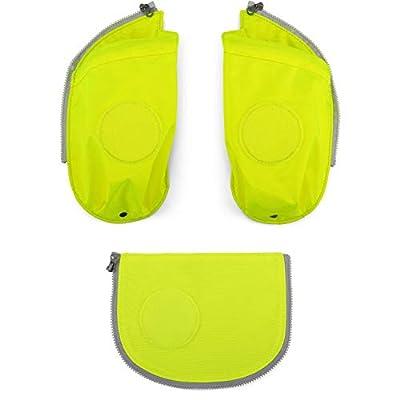 Ergobag Zubehör Cubo Seitentaschen Zip-Sets 3-TLG.