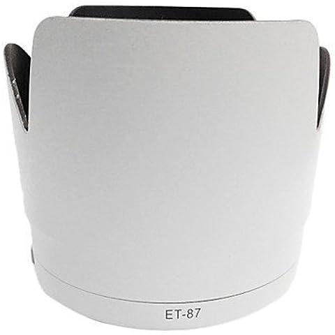 ET-87 Campana Pétalo Lentes para Canon 70-200mm f/2.8L IS II USM Blanco