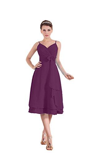 Bridal_Mall - Robe - Sans Manche - Femme - Dunkelviolett