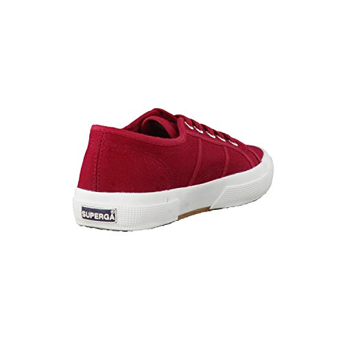Superga Unisex-Erwachsene 2750 Cotu Classic Sneaker Rot