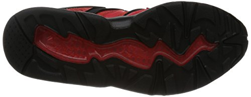 Puma Bog RED Rise X Blaze of Glory Trinomic Sneaker Men leather high risk red