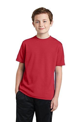 Sport-Tek Youth posicharge racermesh Bürostuhl Tee yst340 Gr. X-Small, True Red (Tee Jugend-true Red)