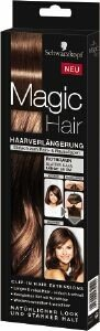Schwarzkopf Magic Hair Brun cuivré 3 postiches pour donner de la longueur et plus de volume à votre chevelure, pince à cheveux incluse. NOUVEAU !