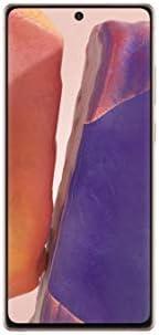 هاتف سامسونج جالكسي نوت 20 ثنائي شرائح الاتصال بذاكرة داخلية سعة 256 جيجا وذاكرة رام سعة 8 جيجا وتقنية الجيل ا