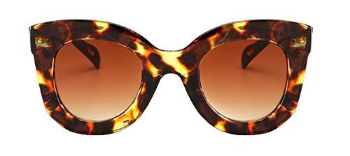 Sommer Gerahmt (Tianba Sonnenbrillen Frauen Anti-UV Brille Outdoor Aktivitäten Kunststoff Leopardenbrille Large-Gerahmte Sommer Durable Zubehör)