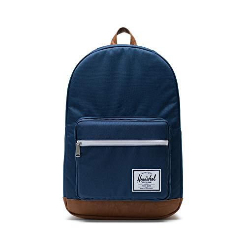 Herschel Settlement Zaino Casual, 45 cm, 22 liters, Blu (Navy/tan)