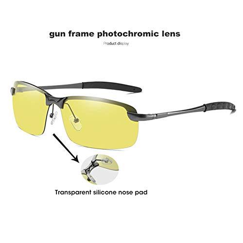 VIWIV Sonnenbrillen Herren, Smart Photochromic Polarized Sonnenbrillen Für Nachtsichtgeräte Herren Und Damen Sportbrillen,3