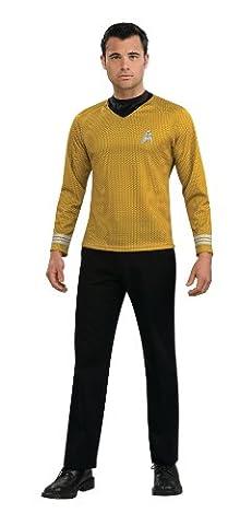 Captain Kirk Herrenkostüm aus Star Trek, Größe:XL