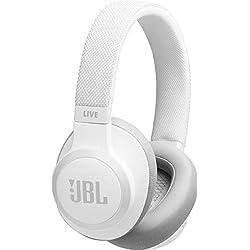JBL Live 650btnc - Casque Audio Circum-auriculaire sans Fil - Écouteurs Bluetooth avec Commande pour Appels - avec Amazon Alexa Intégré - Autonomie jusqu'à 30 Heures - Bleu