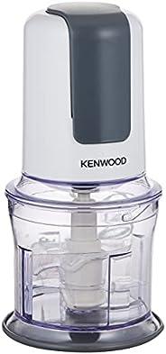Kenwood Mini Chopper with Quad Blade, White/Gray, 500Watts, 0.5L, CH580,