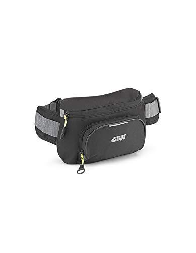 GIVI EA108B Easy Bag Riñonera, Color Negro, Volumen 2 Litros, Carga Máxima...