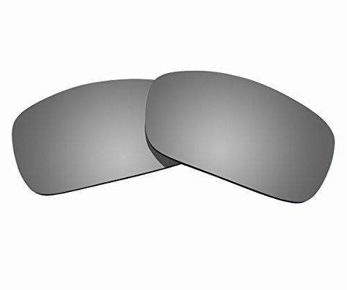 Sunnyblue2 Titan Polarisierte Ersatz Gläser für Oakley Fuel Cell Sonnenbrille