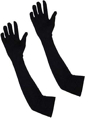 H2Y skin protective sleeve glove black pack of 1