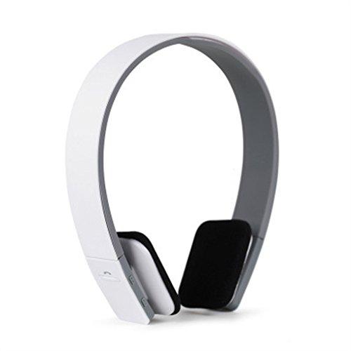 Aiming BQ-618 drahtloser Bluetooth Stereo Headset Freisprecheinrichtung Kopfhörer mit Mikrofon Mikrofon für Telefon-Tablette (Headset-mikrofon Für Telefon)