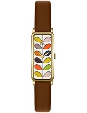 Orla Kiely Damen-Armbanduhr OK2104