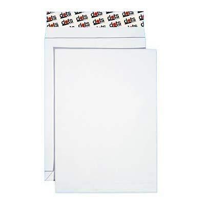 50 dots Faltenversandtaschen C4 / ohne Fenster / Faltenbreite 2,0 cm / selbstklebend / weiß