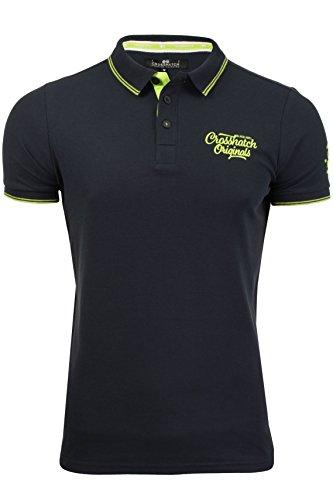 CrossHatch Pique-Poloshirt 'Morristown' Night Sky