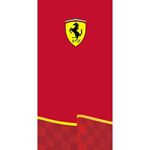 Ferrari Logo Red Beach / Bad Handtuch