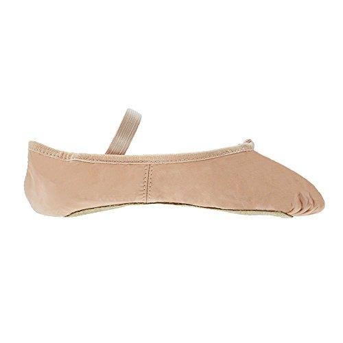 Bloch S0209 Rosa Arise Leder Ballettschuh EU 34 B UK 1.5 B