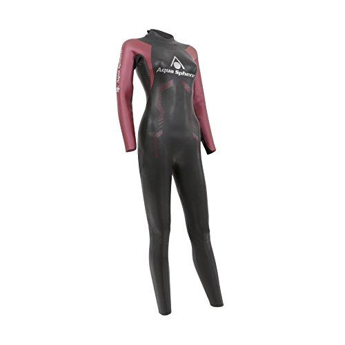 Aqua Sphere Damen Challenger Triathlon Neoprenanzug S schwarz/rot