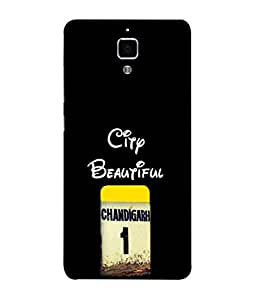 PrintVisa Designer Back Case Cover for Xiaomi Redmi MI4 (Lovely Design Of No 1 City)
