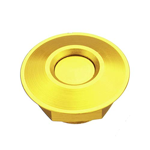 Wooya Universal Metal Bouton Poussoir Voiture Capot De Capot De La Hotte Broches Serrure Clip Kit-Or
