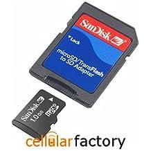 Sandisk Micro SD Tarjeta de memoria 1 GB