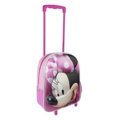 Cerdá 3d minnie valigia, 31 cm, 3 liters, rosa