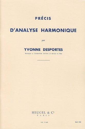 Yvonne Desportes: Precise Harmonic Analysis par Yvonne (C Desportes