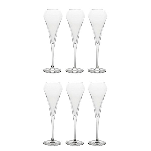 CHEF ET SOMMELIER - U1051 - Lot de 6 Flûtes à Champagne Effervescent OPEN UP 20 cl